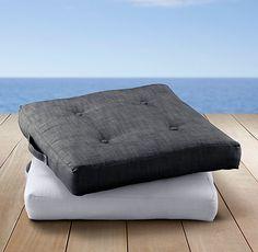 Custom Perennials® Classic Linen Weave Floor Pillow