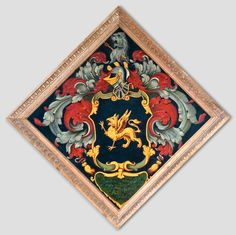 Hatchment of Worthington Brice the Church of St. Peter, at Shepton Mallet, Somserset, England Coat Of Arms, Funeral, Knight, Medieval, Somerset England, Britain, Illustrations, Image, Family Crest