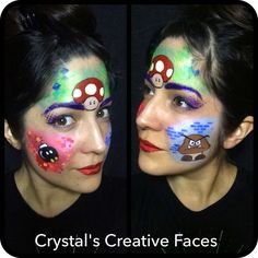 Super Mario by Crystal's Creative Faces