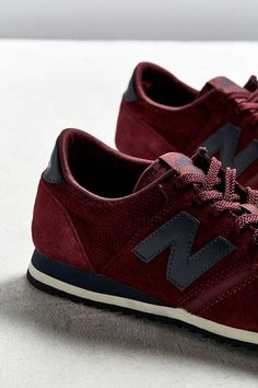 outlet store ddae0 e25a7 Slide View  4  New Balance 420 Burgundy + Navy Sneaker New Balance 420,