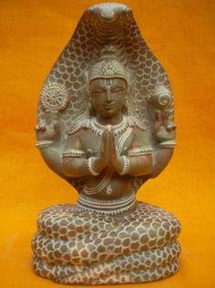 #patanjalisculpture #Stonestatue #Indiandecor #Homedecor #sculpture Patanjali Serpent Hand Carved Stone Sculpture Indian Furniture, Stone Statues, Stone Sculpture, Stone Carving, Hand Carved, Meditation, Sculptures, Mermaid, Dragon