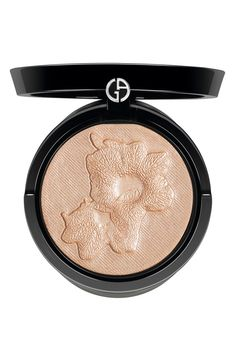 Stunning Armani highlighter gives you all-over shimmer --- this packaging tho!! <3