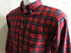 Pendleton's Authentic Ruthven Tartan Plaid 100 Wool Shirt Sz XL Red Green USA | eBay