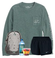 A fashion look from March 2018 featuring NIKE and The North Face backpacks. Browse and shop related looks. Cute Lazy Outfits, Summer Outfits For Teens, Cute Outfits For School, Trendy Outfits, Casual Sporty Outfits, Teenager Outfits, College Outfits, Teen Fashion Outfits, Woman Outfits