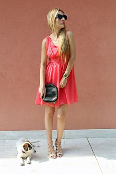 Trench Collection by Sonia Verardo: Looking pretty in ever-pretty.com dress ♥