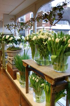 Flower Shop in England flowers flowers and more flowers!