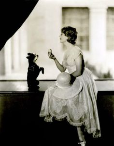 """microwalrus:  Screen Goddess - Betty Compson 1920's - Photo by Lansing Brown  """