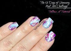bright galaxies   I'm A Nail Art Addict!