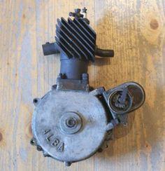 Alba (1919-1924) - Single Cylinder Motorcycle Engine. Stettin, Germany (Now Poland).