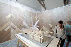 Venice Biennale 2012: New Forms in Wood / Finland, Alvar Aalto Pavilion | ArchDaily