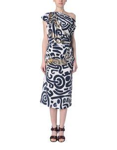 Wadenlanges Kleid für Sie - VIVIENNE WESTWOOD ANGLOMANIA