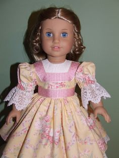 Garden Party dress for Cecile or Marie Grace by AGSeamstress, sold 2011