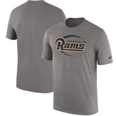6f193bde81f Los Angeles Rams Nike Legend Icon Logo Performance T-Shirt - Heather Gray.  Buffalo Bills FootballBaby BuffaloGrey NikesHeather GrayNfl Dallas CowboysMan  ...