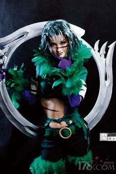 Tira from Soul Caliber . . . my favorite character from the series.