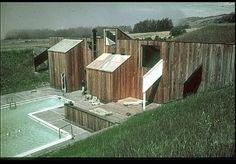 Sea Ranch: Swim-Tennis Club No. 1 Charles Willard Moore (American architect, 1925-1993) Sea Ranch, California, United States 1965 (creation)