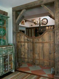Bar kapısı..