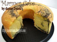 dapur Deana: ~ Marmer Cake ~ Cheesecake Recipes, Cupcake Recipes, Dessert Recipes, Marmer Cake, Bolu Cake, Cake Oven, Resep Cake, Bakery Cakes, Food Cakes