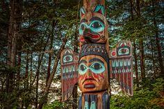 The Kadjuk Bird Pole  See Totems in Ketchikan
