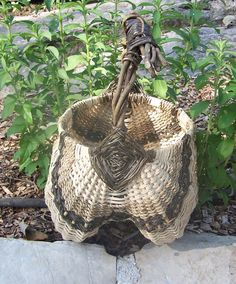 Kudzu Basket by EightHandsStudio on Etsy, $95.00