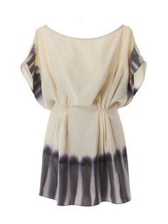 Hand Dyed Silk Tunic by Mina Stone. Gorgeous!