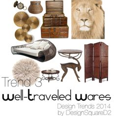 """""""Trend 3"""" by design2square on Polyvore Interior Styling, Interior Design, Article Design, 2014 Trends, Home Staging, Design Trends, Tiles, Polyvore, Inspiration"""