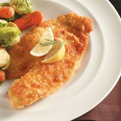 Taste of Home: Parmesan-Crusted Tilapia Recipe