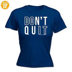 Sex Weights Protein Shakes Damen T-Shirt, Slogan Gr. XX-Large, Blau - Navy - Shirts mit spruch (*Partner-Link)