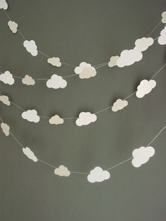 Cloud Garland – Baby Gift – New Baby – Nursery Decor – Crib Mobile – Neutral Baby Gift – Baby Shower Decoration – Cloud Mobile – Scandi Baby Wolkengirlande – Baby Geschenk – neues Baby – Kinderzimmer Dekor – Krippe Mobile – Neutral … Baby Shower Gifts, Baby Gifts, Cloud Mobile, Mobile Baby, Baby Shower Balloons, Nursery Hot Air Balloon, Hot Air Balloon Classroom Theme, Birthday Balloons, Hot Air Ballon Diy