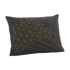 Delicate Triangles Pillow