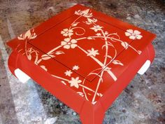 How to Paint and Stencil an Old Wood Table : How-To : DIY Network