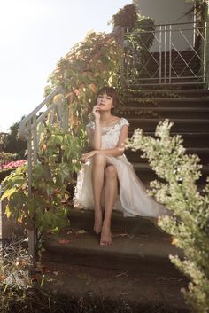 Brautkleid Luta Seide, Wedding dress silk, bridal style