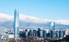 Resultado de imagen para skyline santiago de chile San Francisco Skyline, Travel, Santiago, Voyage, Viajes, Traveling, Trips, Tourism