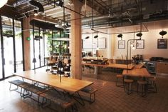 The Verve/Juice Served Here concept shop in DTLA.  Photo courtesy of Verve Coffee Roasters.