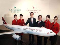 Cathay Pacific rebrands Dragonair as Cathay Dragon