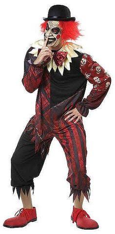 Mens Zombie 2nd Skin Jumpsuit Costume Adult Halloween Walking Dead Fancy Dress