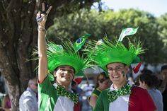 Pin for Later: World Cup Fans Are Feeling All Kinds of Emotions  Italian football fans showed their support in Manaus, Brazil.