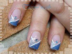 unghie gel brillantini - Cerca con Google