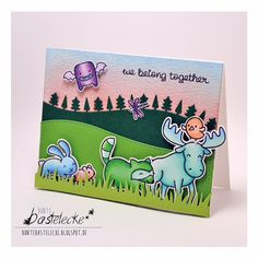 Critter Parade with #lawnfawn