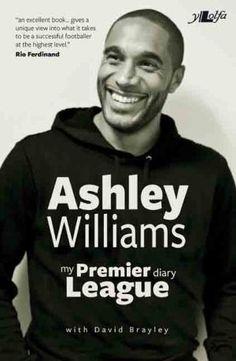 ashley williams swansea city premiership league , front cover