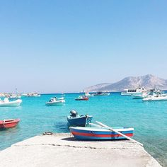 The peaceful and colorful Koufonisia islands (Κουφονήσια) ☀️.