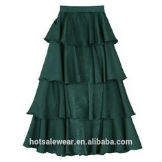2017 New Design Solid Color Women Long Skirt Multilevel Maxi Skirt Graceful Gown Skirt - Buy Long Maxi Skirt,Multilevel Skirt,Gown Skirt Product on Alibaba.com