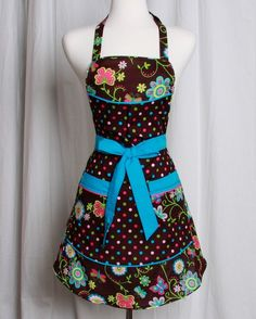 bright and colorful apron from apronqueen on etsy