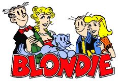 Blondie comic strip (with Dagwood & family) was in the Sunday Funny Paper and I  always read it.