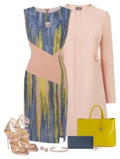 """""""Dress and Impressed"""" by laaudra-rasco ❤ liked on Polyvore featuring Furla, Apt…"""