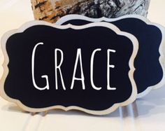 6 reusable name tags chalkboard name tags magnet name tags or pin 50 chalkboard name tags magnetic or pins reusable name tags perfect for weddings solutioingenieria Images