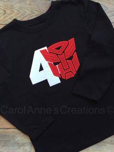 Transformers Birthday Shirt