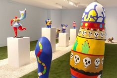 Artdaily.org - The First Art Newspaper on the Net Niki de Saint Phalle - 10/29/1930--05/21/2002. (Vicky David Gallery)