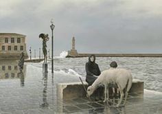 """Saatchi Art Artist Robert Vanderhorst; Painting, """"THE SENTINEL by Robert Vanderhorst"""" #art"""