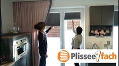 Plissee mit Rundbogen auf einem Holzsprossenfenster | For the Home ...
