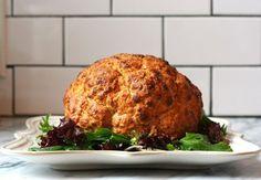 Receta facil: Coliflor al horno con salsa griega con especias - Blog de cocina sana: Dietas para bajar de peso